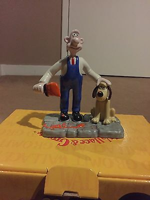 Coalport Wallace and Gromit--  Ready for Take Off -- First Edition -- NEW