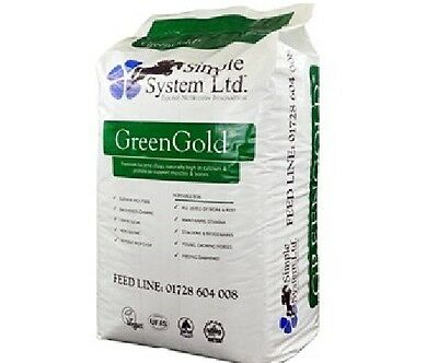 Simple System GreenGold Lucerne Chop 15kg Horse Food Feed