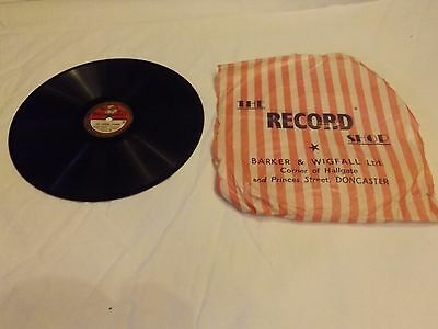 "Sandy Powell: The Singing Lesson 8"" 78rpm Broadcast 559"