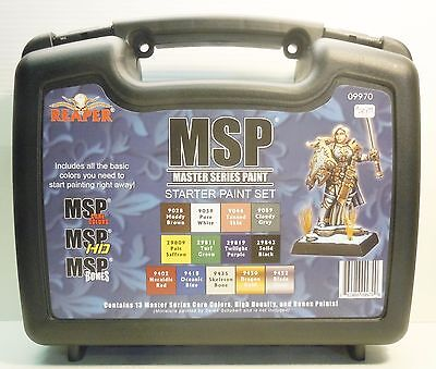 Reaper Miniatures MSP Master Series Paint Set Kit New 09970 Highly recommended
