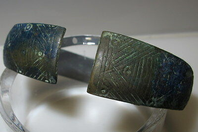 Ancient Viking Bronze Bracelet original Genuine