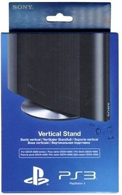 Official Sony Playstation 3 Vertical Stand For Super Slim Ps3 Consoles - New