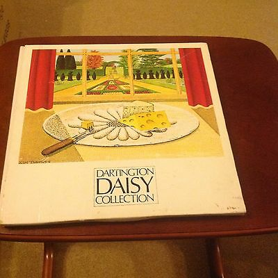 Dartinton Daisy Collection,frank Thrower Handmade 24%lead Crystal Cheese Platter