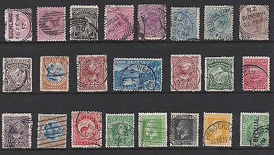 New Zealand Small collection of older stamps