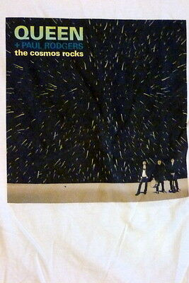 Queen with Paul Rodgers The Cosmos Rocks large T-Shirt