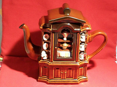 **huge And Heavy Tony Carter Trophy And Display Cabinet Teapot** *in Great Con*