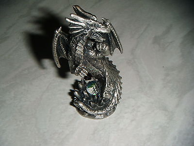 TUDOR MINT Myth & Magic Winged Dragon Figurine FAMULUS No 26 FREE P&P