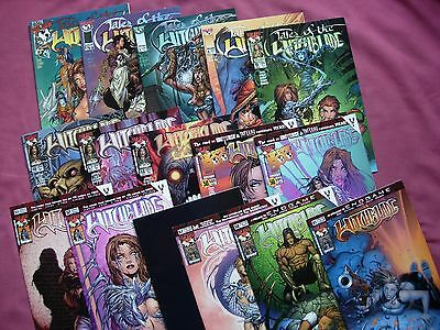 Witchblade Top Cow Comics USA X16 Issue Job Lot 1996-2002 First Prints VFN+