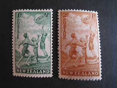 New Zealand 1940 Health stamps mint