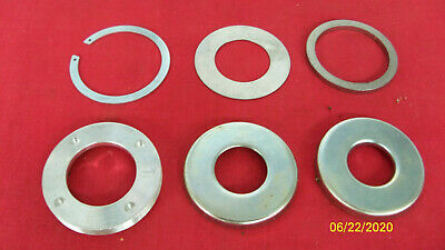 63--68 Triumph Front Axle Spacers, Grease Retainers, Washer Rebuild Kit Uk Made