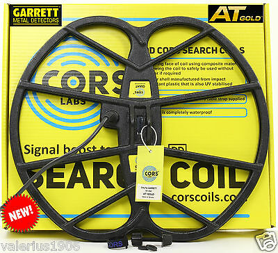 """New CORS GIANT 15""""x17"""" DD search coil for Garrett AT GOLD + cover + fix bolt"""