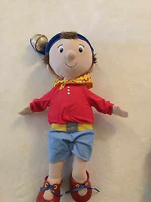 Large Genuine Noddy Talking Soft Toy with bell