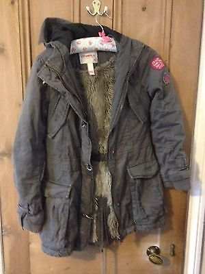 Lovely Very Warm Oneill Girl's Jacket Parka Style, Size 152 Approx 11-12 Years