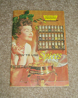Watkins Products How to Use Spices 1958 Recipe Booklet
