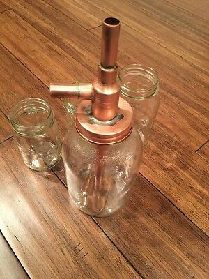 Alcohol Distiller Moonshine Thumper with all copper cap