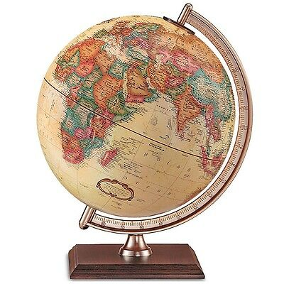 Replogle Forester 9-Inch World Classic Globe - NO MERIDIAN/STAND - Mint Cond.