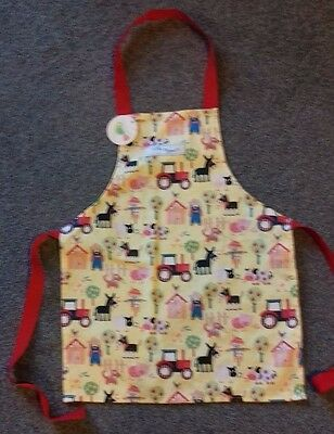 Old Macdonald children's apron by little rhymes brand new with tags