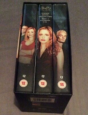 Buffy The Vampire Slayer Season 7 Part 1 Episodes 1-11 VHS Two Tapes Sealed