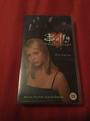 Buffy The Vampire Slayer Season 2 Becoming Special Feature Length Episode Tape