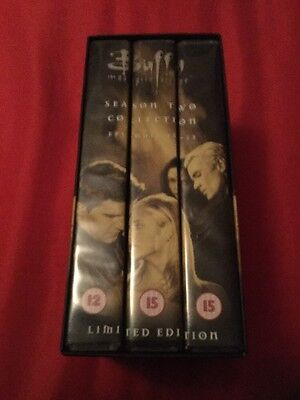 Buffy The Vampire Slayer Season 2 Part 2 Episodes 12-22Limited Edition VHS Tapes