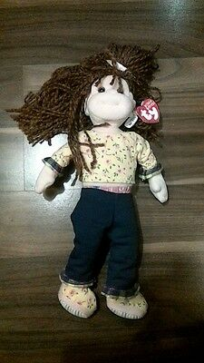 Lovable Lulu Ty Beanie Boppers Toy Soft Doll
