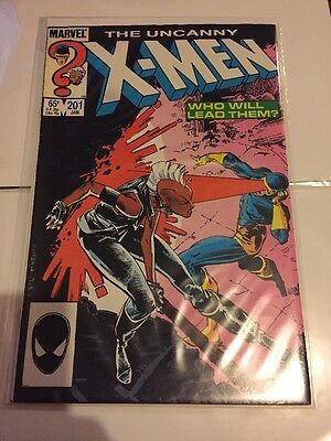 The Uncanny X-Men Vol. 1 - #201   1st Appearance Nathan Summers - Cable as Baby