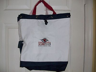 DCL Castaway Club Tote Backpack Shoulder Bag NWOT