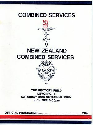 Combined Services v New Zealand Combined Services 3/011/85