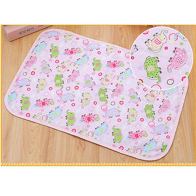 2016 Changing Pads Mat Cover Skin Burp Baby Infant Kid Breathable Waterproof Pad