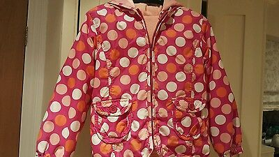 Girls John Lewis Layered Coat Jacket Age 7 Yrs