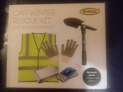 Ring  Car Winter Rescue Kit - All Items  Shown On Box