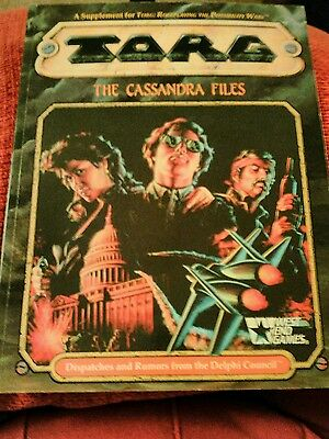 TORG THE CASSANDRA FILES roleplay for West End Games 20554