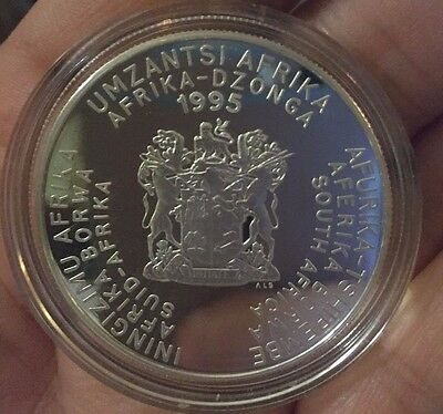 South Africa 2 Rand 1995 Proof Silver coin - 50th Anniversary United Nations