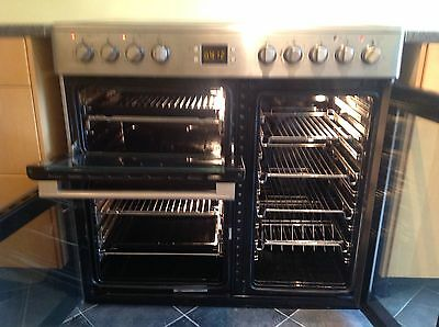 Leisure CMCE96 90 cm  Electric Range cooker with ceramic hob