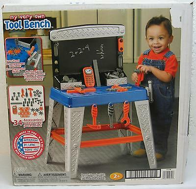 My Very Own - TOOL BENCH - with 34 Accessories - NEW
