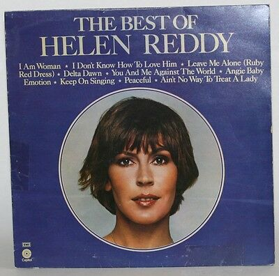 LP Album  - The Best Of Helen Reddy - Disc Vinyl Record 1991