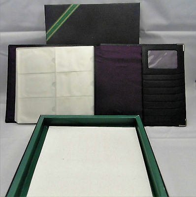 Bnib High Quality Marks And Spencer Luxury Large Leather  Business Card Holder