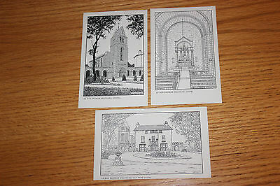 Le Bon Sauveur Convent 1937, Holyhead, Anglesey. Set of 3 Postcards.