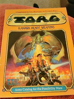 TORG KANAWA HEAVY WEAPONS roleplay for West End Games 20564