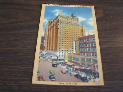 Vintage - The Hotel Victory, Hotel Taft   - New York City  - Post Card