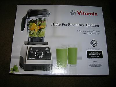 Vitamix Professional Series 750 High-performance Blender NEW IN SEALED BOX