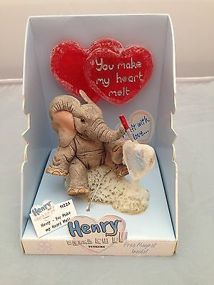 BNIB New Boxed TUSKERS HENRY You Make My Heart Melt #91223 Country Artists