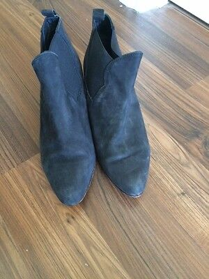 Witchery Black Ankle Boots (Women's size 39)