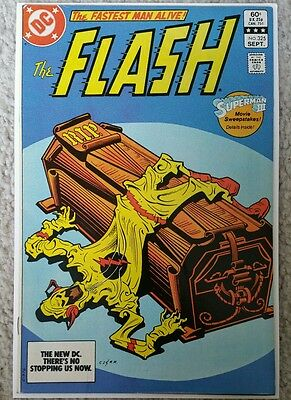 The Flash #325 (1983, DC) Death of Reverse Flash Aftermath!  Barry Allen