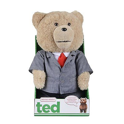 Ted 16-Inch Moving/Animated Plush Suit Explicit Talking Teddy Bear - R-Rated
