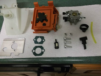 stihl strimmer fs120 to fs350  carburator  c/w housings  etc see photo