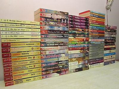 Harlequin Books  Lot Of 90 Romance  Temptation  Historical Super Romance  Others
