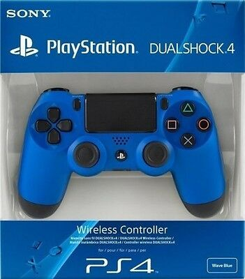Controller Dual Shock 4 Wave Blue  - PlayStation 4 - BRAND NEW