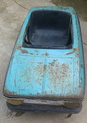 VERY RARE Vintage Russian Metal Pedal CAR MOSKVICH
