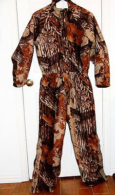 Cabela's Coveralls Camo Mens Hunting Dry Plus Size Med.